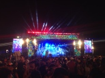 Main stage in Recife for Carnaval