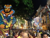 Packed Recife Carnaval streets