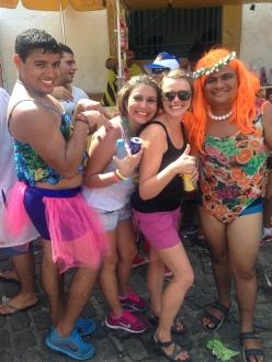 Fun group in Olinda