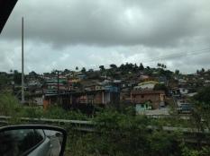 Favela, or shantytown, outside of Olinda