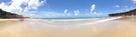 Dolphin Bay at Playa de Pipa - one of the prettiest, best beaches of the entire trip!