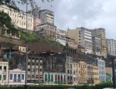 Buildings in downtown Salvador