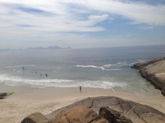 Out on the Ipanema peninsula