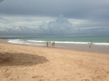 Beach in Maceio downtown