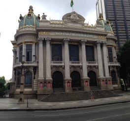 National Theater in downtown Rio