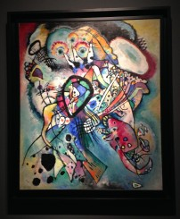 Kandinsky (Jen was originally an art major and he's one of her favorites) exhibition at the Cultural Center in Rio