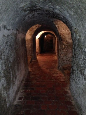 Passageways in the fort